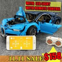 Double 11 SALE free shopp Bugatti Chiron Technic APP RC Compatible 42083 20086 lepinBricks Building Blocks Toys Gifts