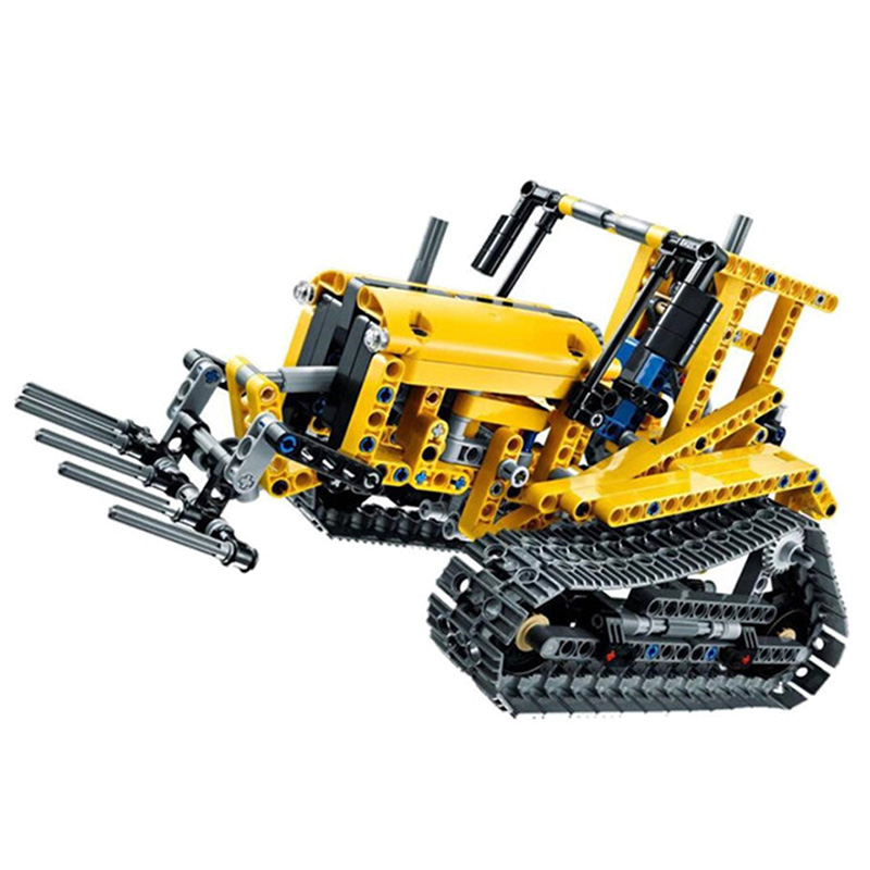 Excavator-Car-Compatible-With-Legoing-Technic-42006-Truck-Model-Building-Blocks-Boys-Birthday-Gifts-Toys-For(4)