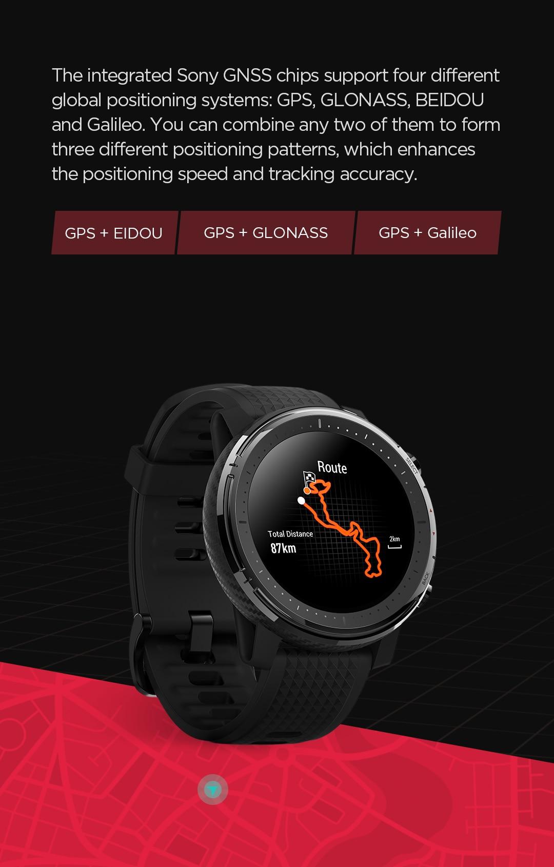 Amazfit Stratos 3 Smartwatch 9