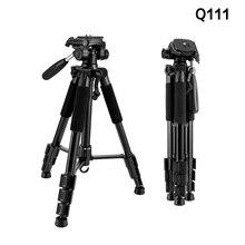 Q111 Lightweight Camera Smartphone Tripod Aluminum Stand Bracket for Travel Photo Tripode for Digital Camera DSLR