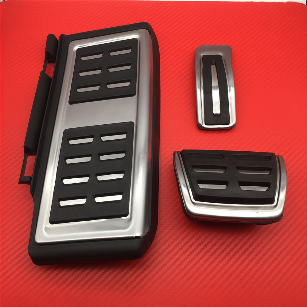 Car Pedal Auto Pedals for <font><b>VW</b></font> <font><b>GOLF</b></font> <font><b>7</b></font> <font><b>GTi</b></font> MK7 Lamando for Audi A3 S3 8V RS3 Cabrio Fit for Skoda Octavia 5E A7 Rapid Seat Leon image