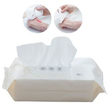 Face-Tissue-Towel-Wipes Wet Washcloth Makeup-Remover Pearl Facial-Cleansing Disposable