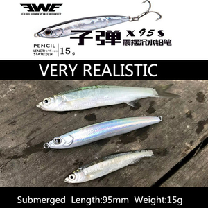 EWE Sinking Stickbait X95S Wobbler Fishing Pencil Lures 95mm 15g Long Cast Hard Lure Pesca Isca Leurre For Bass Pike Perch Fish