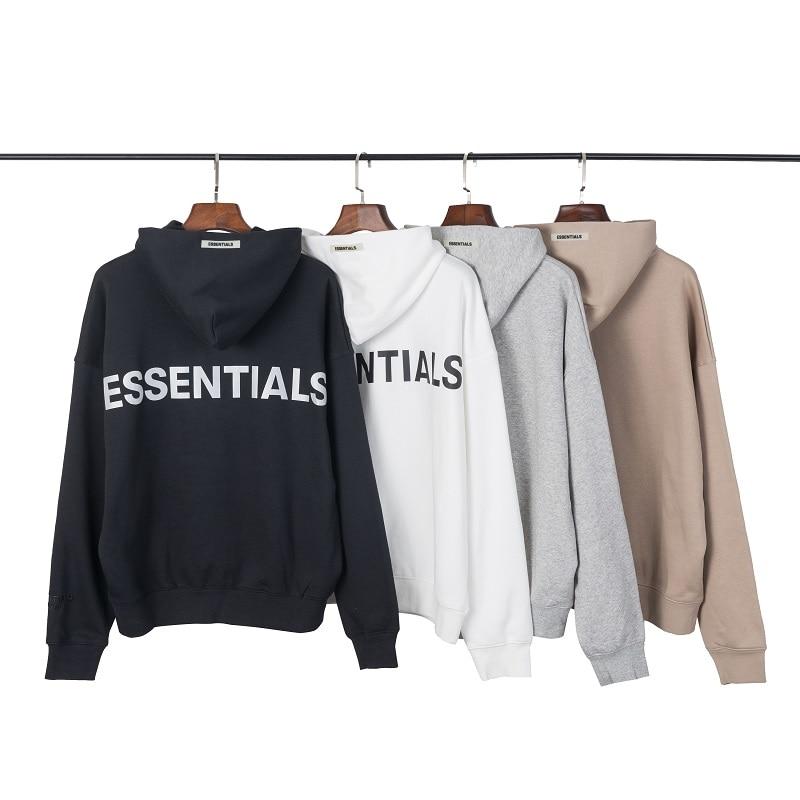 2019 New  Hoodies Sweatshirts Kanye West Fog Loose Ovesized Hoodies Essentials Hip Hop Cotton Sweatshirts