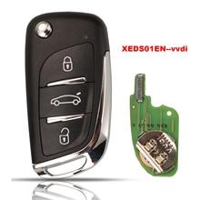 Xhorse Jingyuqin XEDS01EN Super Remote Key มาพร้อมกับภายใน Super ชิป VVDI XEDS01EN ไร้สาย