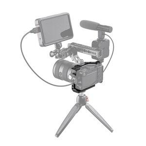 """Image 5 - Клетка для видеосъемки SmallRig A6600 для камеры Sony A6600, клетка с креплением для холодного башмака/ARRI 3/8 """" 16, аксессуары с резьбой 2493"""