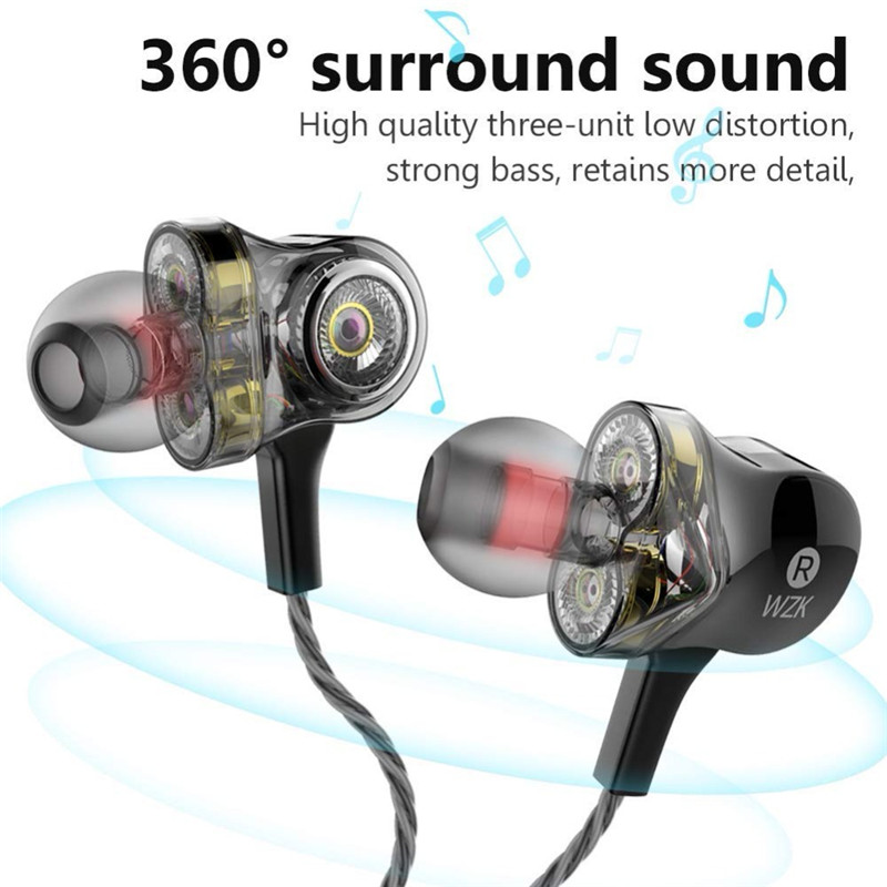 100% <font><b>Original</b></font> I-INTO i8 3DD <font><b>6</b></font> stick HIFI stereo Kopfhörer pop musik bass DJ 3,5 MM wired headset mit MIC für <font><b>iPhone</b></font> Xiaomi Huawei image