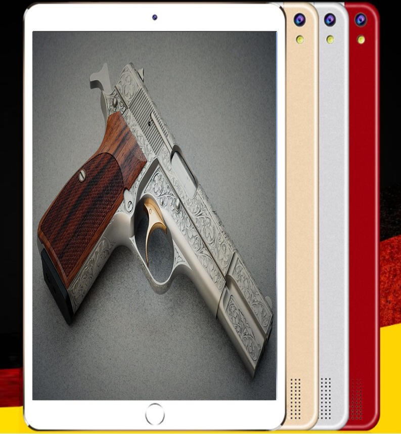 2020 New Unlock 10 Inch Tablet PC 10 Core Android 8.0 4G Tablets 6GB RAM 128GB ROM Dual Sim 1280x800 GPS Kids Gift 10 Phone Pad