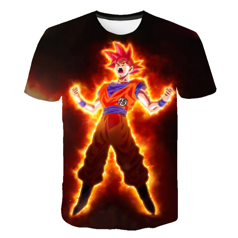 Dragon Ball t-shirt hommes été à manches courtes 3d Dragon Ball Z super son goku anime t-shirt hommes T-Shirts végéta t-shirt vêtements image
