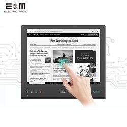 Monitor táctil de 13,3 pulgadas 2200x1650 2K HD E Ink Paperlike electrónico Ebook papel de tinta pantalla parpadeante pantalla libre cuidado de los ojos DASUNG