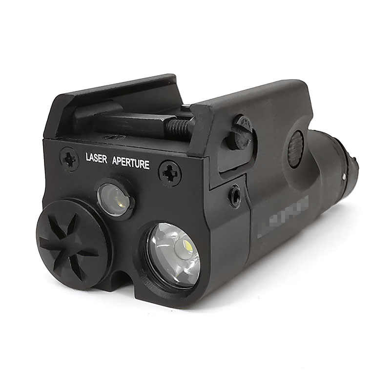 Tactische SF Hoge Red dot Laser Pistool Licht Wapen Licht Zaklamp MINI LED Wit Jacht Airsoft Voor GLOCK 20mm
