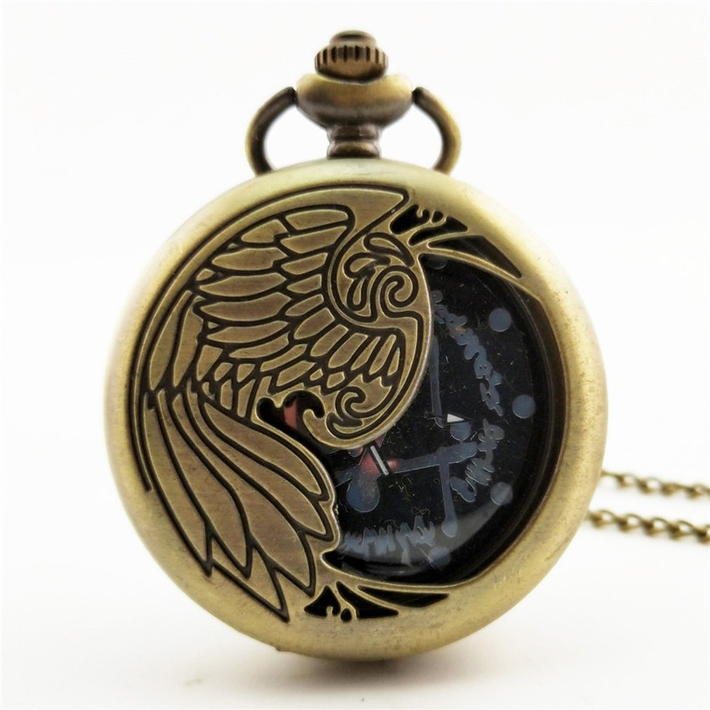 2018 Chinese Cheap Zodiac Vintage Antique Quartz Pocket Watch Necklace Pendant Clock For Mens Womens Best Gifts Orologio Uomo