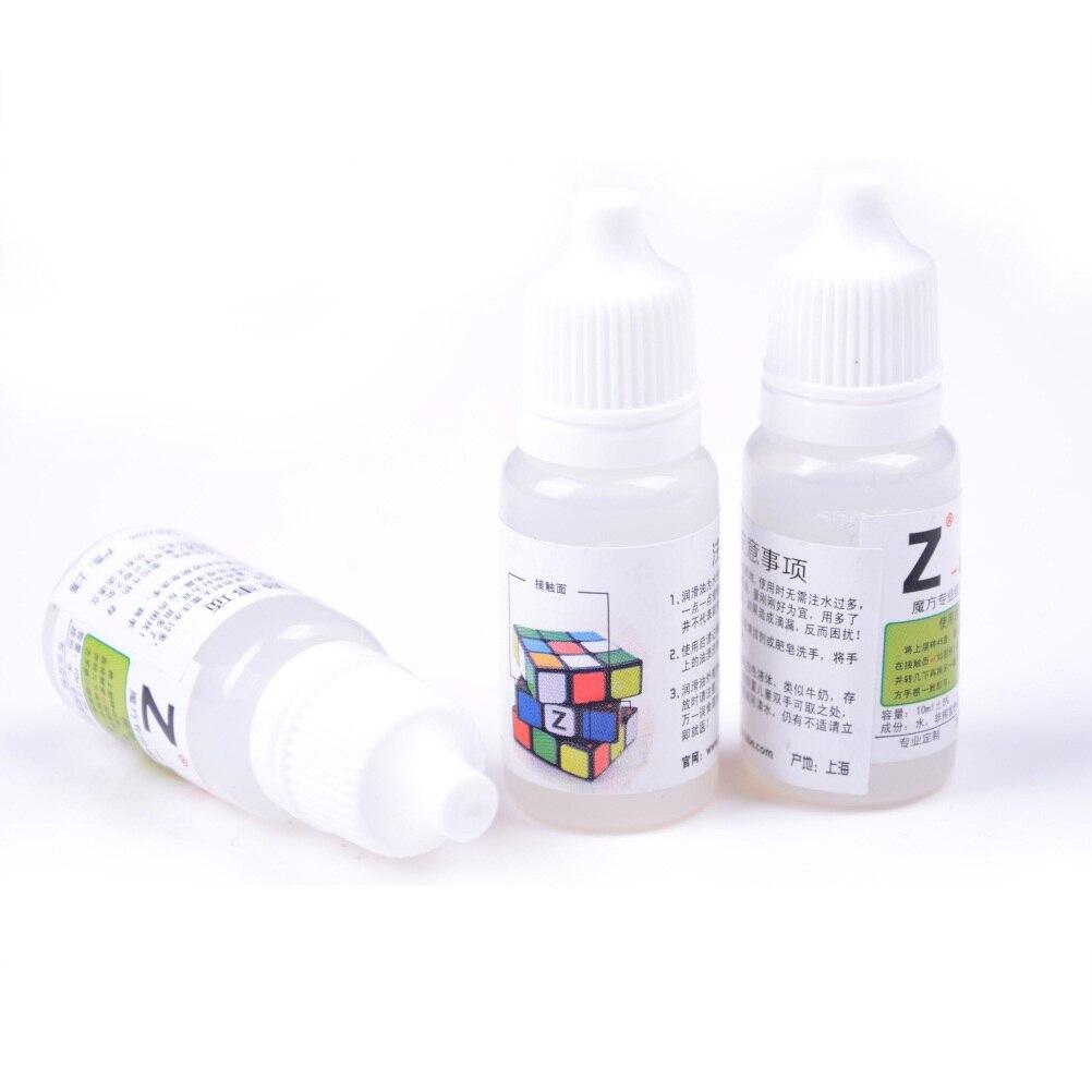 Vente chaude 1 bouteille cube magique lisse huile lubrifiante 10ML Cube magique huile meilleurs lubrifiants en silicone