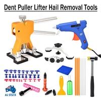 Car Body Paintless Dent Hail Repair Puller Lifter Car Dent Puller Tabs Removal Kits For Car Hand Tool Pulling Bridge Hammer