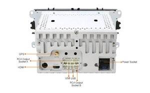 Image 5 - DSP Android 10.0 samochodowy odtwarzacz DVD 2 Din radio GPS Navi dla Ford Focus Mondeo Kuga C MAX S MAX Galaxy Audio Stereo jednostka główna