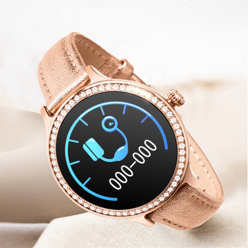 <font><b>M8</b></font> <font><b>Smart</b></font> <font><b>Watch</b></font> IP68 Lady <font><b>Smart</b></font> Band Heart Rate Monitor Fitness Tracker Bracelet Physiology Cycle Smartwatch For Android/ios Eh# image