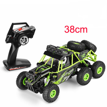 New Wltoys 18628 rc car 1:18 six-wheel drive climbing car 2.4G remote control big foot off-road vehicle large size 38cm