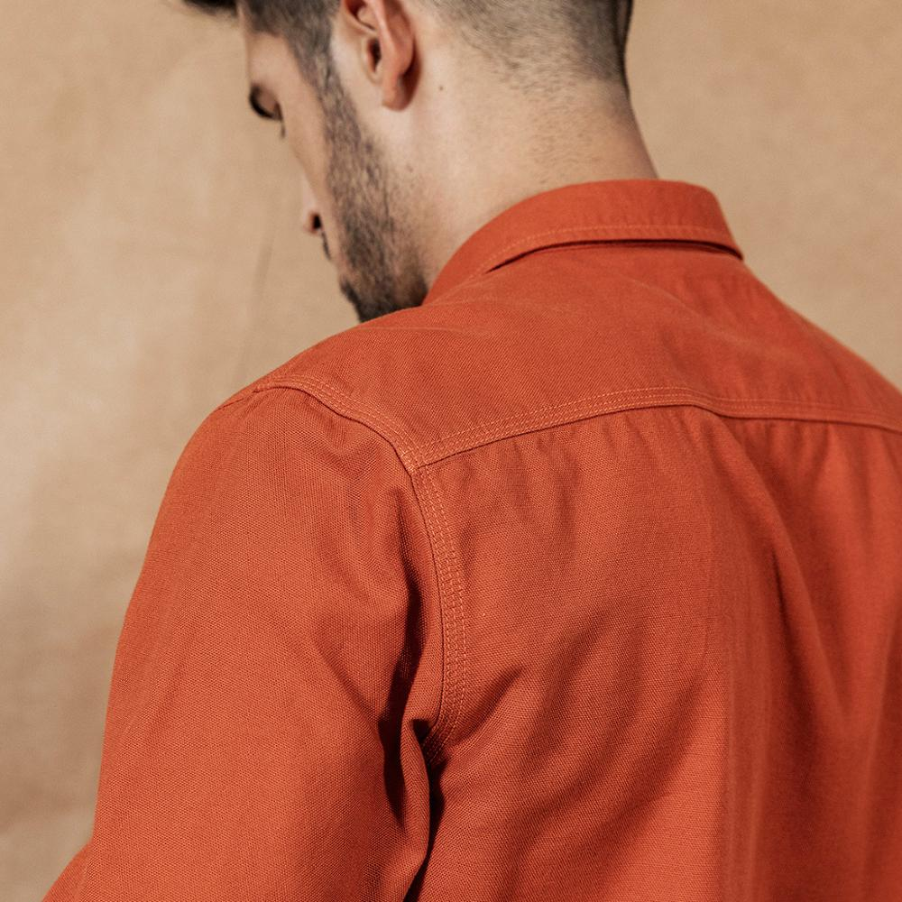 Image 5 - SIMWOOD 2020 spring New Cargo Pocket Shirt Men 100% Cotton Causal  Long Sleeve Shirts Plus Size High Quality Clothing 190376Casual  Shirts