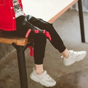 Image 2 - السراويل لصبي إلكتروني طباعة السراويل الصبي كامل طول الأطفال البضائع السراويل الشتاء موضة المراهقين الأولاد الملابس 6 8 10 12 14 سنة