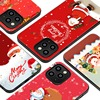 Soft TPU Merry Christmas Deer Phone Case For iPhone 12 11 13 Pro Max XS Max Mini 8 7 Plus SE 20 X XR Cases Red Coque Back Cover