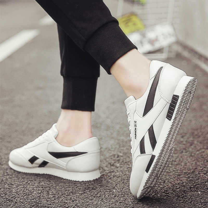 2019 Autumn New Style White Shoes Men Casual Forrest Gump Shoes Versatile Trendy Shoes Korean-style Trend Autumn & Winter MEN'S