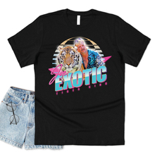 New Tiger King T-shirt Joe Exotic 80's Shirt Funny Tiger Graphic Tee USA Retro TV Show Tees