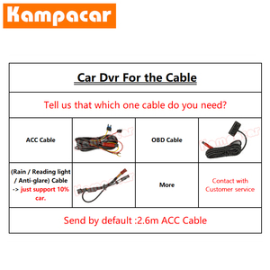 Image 2 - Kampacar BZ18 C Wifi داش كاميرا سيارة Dvr كاميرا لمرسيدس بنز GL الفئة ML 320 350 W163 W164 450 W166 W212 500 X164 X166 63 AMG