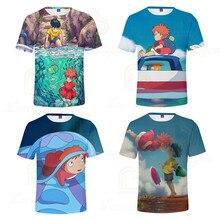 Animated Movie 3d Print Summer Boy Girls T Shirt 3D Print T-shirts Short Sleeve Round Neck Comfort Polyester Children Clothes 3d flame bird print crew neck long sleeve t shirt