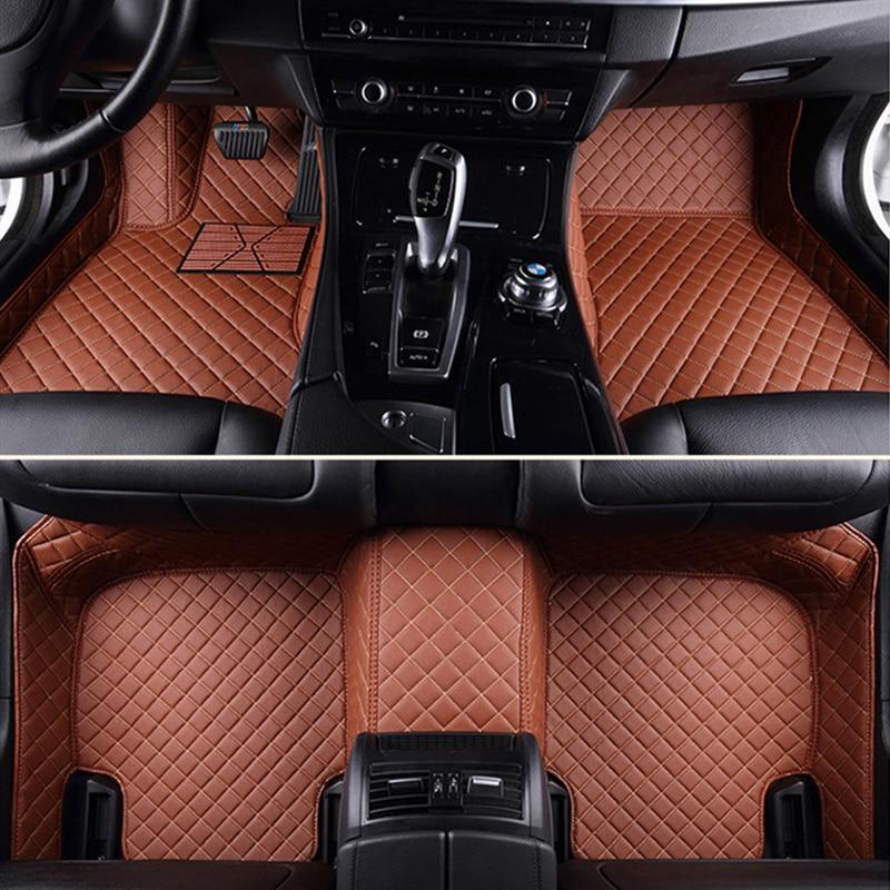 Leather Custom Car Floor Foot Mat For Chevrolet All Models