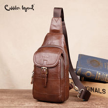 Cobbler Legend Genuine Leather Crossbody Bags Fashion Men Sm