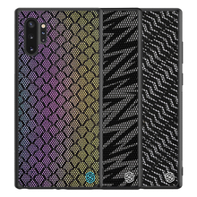 Case Voor Samsung Galaxy Note 10 10 + Plus Pro 5G Cover NILLKIN Twinkle Case polyester Reflecterende Back Cover voor Samsung Note10