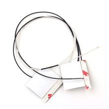 1 par 70cm IPEX4 NGFF Cartão Wi-fi Sem Fio Portátil WiFi Antena Interna Para M.2 AX200NGW 9260NGW 8260NGW 8265NGW 7265NGW 7260NGW