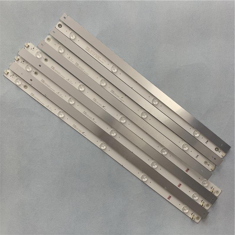 1108mm LED Backlight Strip For Philips 55 INCH LB-C550F14-E5-L-G1-SE1 850118650 SVJ550AG2_REV11_9LED_L/R_150114(550D6000_WICOP)