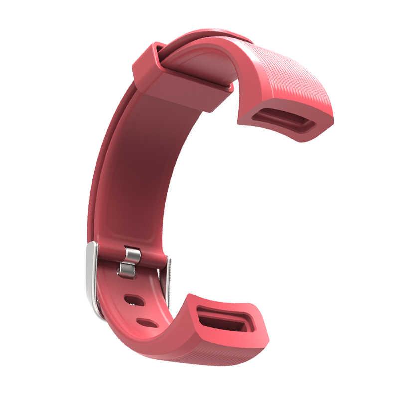 Lerbyee Original GT101 Handgelenk Band Smart Armband Strap Schwarz/Rot/Blau/Weiß/rosa 5 Farben in lager