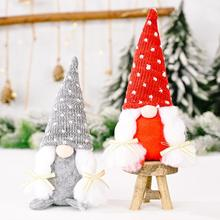 Christmas Gnome Faceless Elf Doll Merry Christmas Decoration For Home Christmas Ornament Happy New Year Gift 2022 Navidad Natal