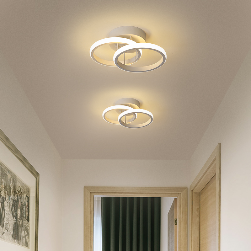 Artpad LED Ceiling Light Fixtures For Bedroom Hallway Living Room Corridor Aluminum Surface Mounted Ceiling Lamps Modern