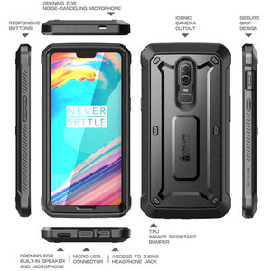 Image 5 - SUPCASE Case For OnePlus 6 UB Pro Full Body Rugged Holster Protective Cover with Built in Screen Protector For One Plus 6 Case