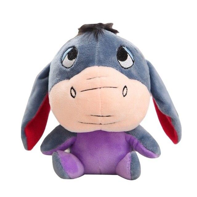 Disney 12-18cm Winnie the Pooh Bear Anime Cute Cartoon Plush Dolls Toys Keychain Pendant Kids Birthday Gift 6