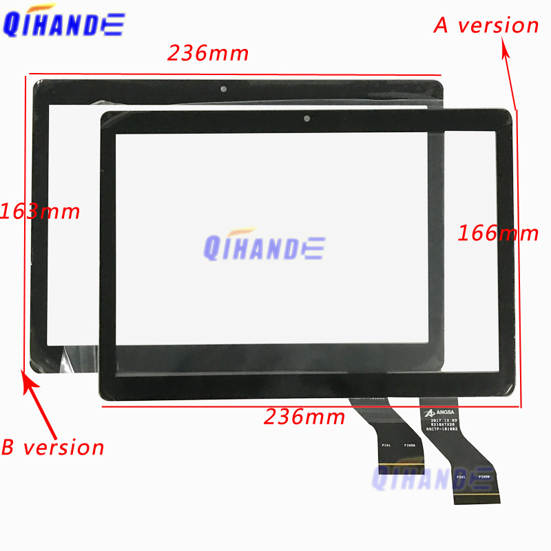 New 2.5D Touch Screen ASCTP-101002 10.1'' Inch Kids Tablet Touch Panel Digitizer Sensor Replacement ASCTP - 101002 Multitouch