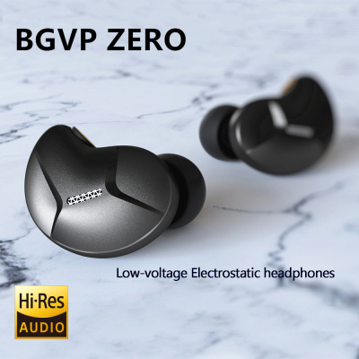 Auriculares BGVP ZERO Static de alta fidelidad en el oído, tapones para los oídos con bobina móvil, bajos de control de línea de movimiento