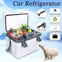 19L Freeze heating Fridge Compressor DC12 24V/AC220V Refrigerator for  Home Refrigeration heating  5~65 Degrees|Refrigerators| |  -