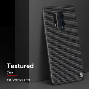 Image 2 - Nillkin Nylon PC Plastic Back Cover for OnePlus 8 Pro Textured Case protector cover For one plus 8 pro