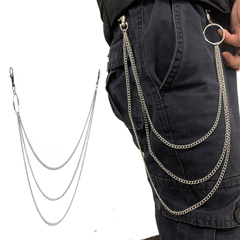 3 Layer Chain With Personality Rock Punk Style Dancing Belt Chain Women Fashion Wild Jeans Decoration Body Chains цена 2017