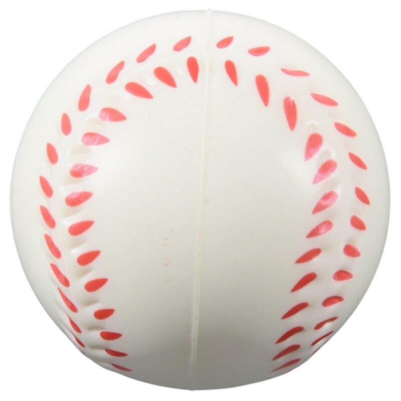 TOP!-White Baseball Stress Ball
