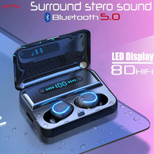 Wireless Headset Earphone Touch Control In-ear Bluetooth Earbuds Mini Fashion Cool Earphones Suitable for iPhone Android iOS(China)