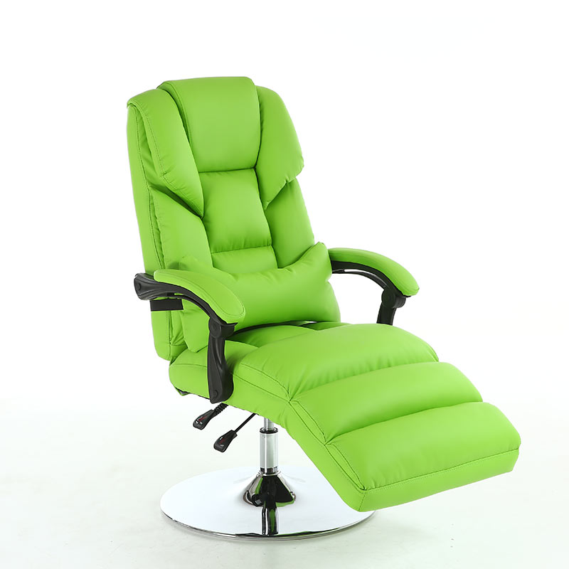 Household Beauty Reclining Chair Office Boss Chair Ergonomic Computer Gaming Chair Internet Cafe Seat Lazy Sofa Disc Foot