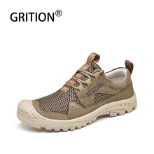 Boots Trekking Mountain-Climbing-Shoes Spring Lightweight GRITION Tactical Fashionsneakers