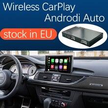 무선 애플 CarPlay 안 드 로이드 자동 인터페이스 아우디 A6 A7 2012 2018, AirPlay 미러 링크 자동차 재생 기능