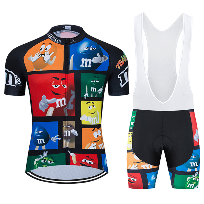 Cycling-Clothing-Sets Mens Short-Sleeve MTB Funny Novelty Ropa-Ciclismo Breathable