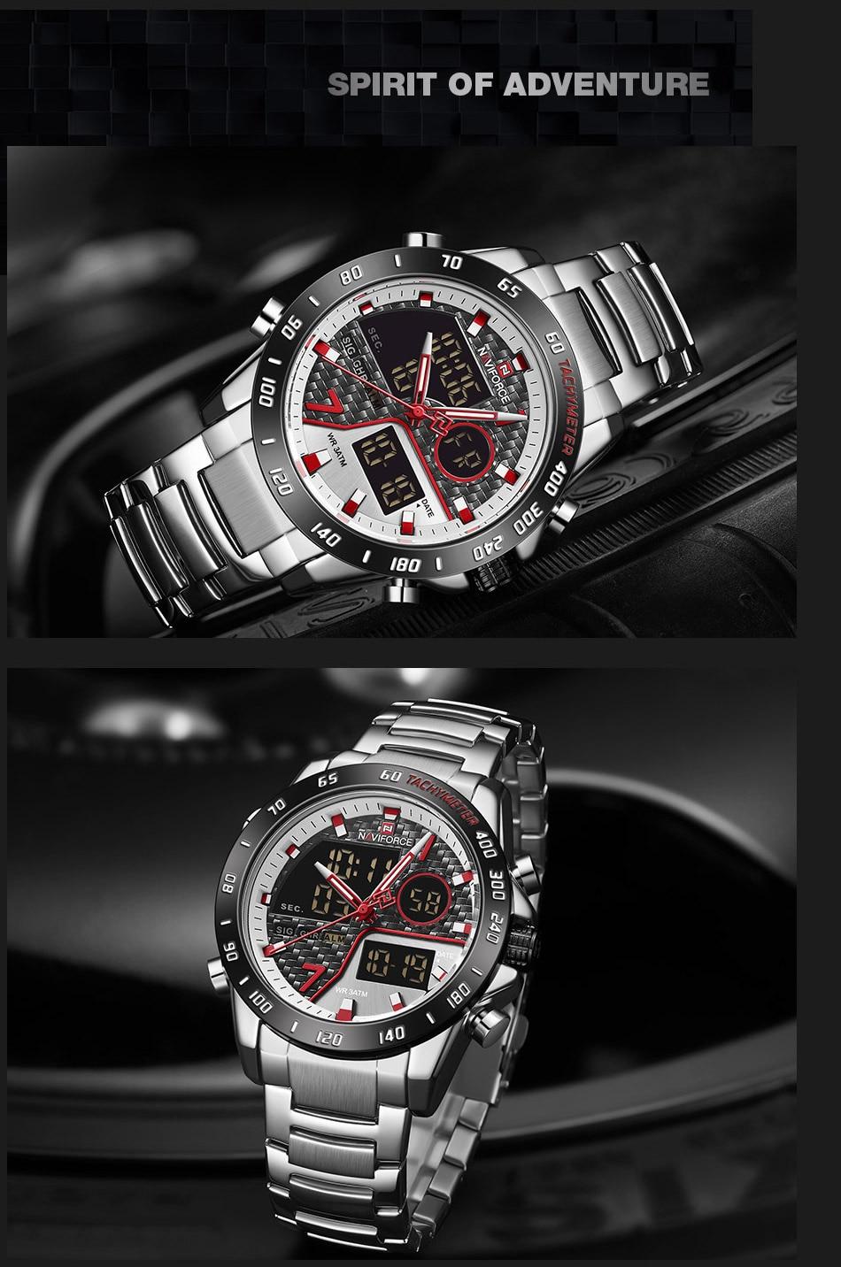 Hfdece4f7e1584c87911033a4fbb98009d NAVIFORCE Men Digital Watch LED Sport Military Mens Quartz Wristwatch Male Luminous Waterproof Clock Watches Relogio Masculino